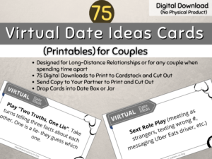 75 Virtual Date Ideas for Couples