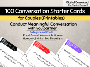 100 Conversation Starters for Couples